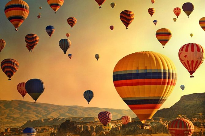 Discover Cappadocia by Hot Air Balloon