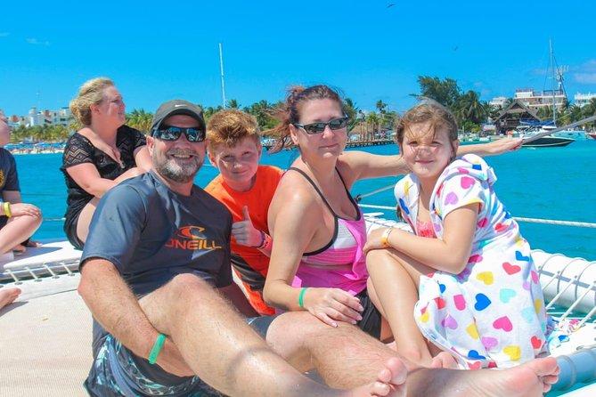 Isla Mujeres Catamaran Group Tour from Puerto Morelos
