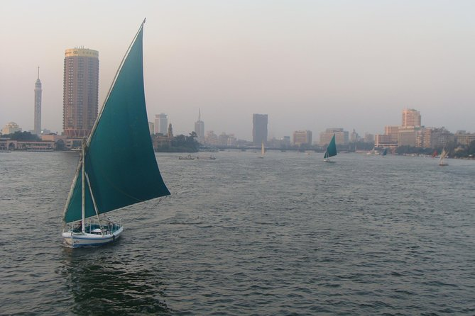 Felucca ride on the Nile from cairo giza hotels