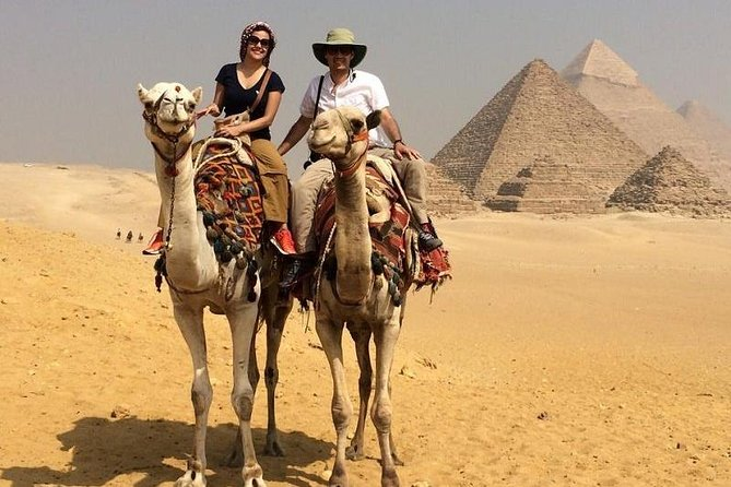 Giza Pyramids ,Egyptian Museum day tour Cairo Giza hotel and night dinner cruise