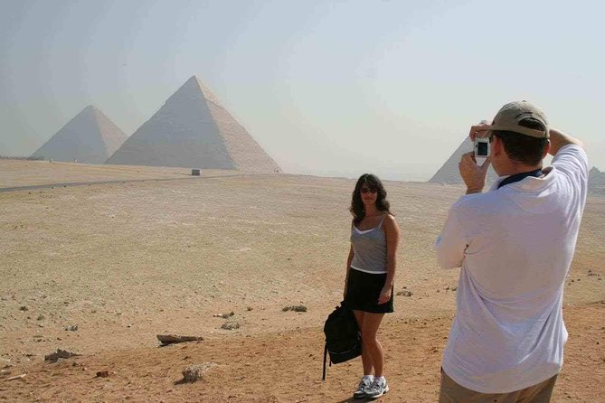 Giza pyramids Memphis Sakkara day tour ancient history