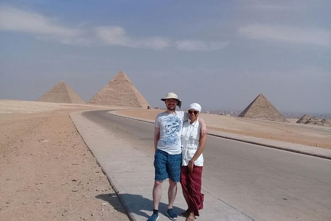 Full-day Private Tour at Giza pymids with ATV quad ride and Nile Dinner Cruise