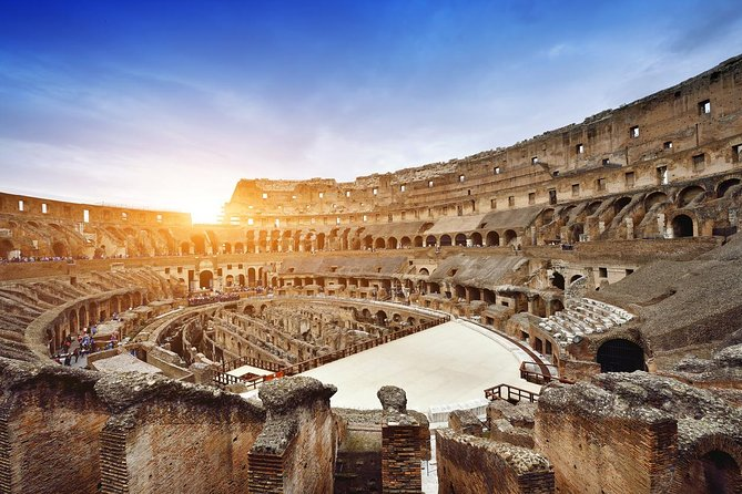 Exclusive Colosseum Gladiators Arena Ancient Rome guided Tour VIP Entry Tickets photo 3