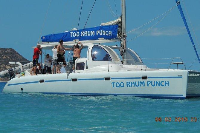Tropical Catamaran Snorkeling, Sailing And Beach Experience