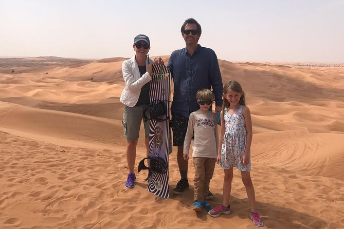 Half-Hour Quadbike ride with Dune bashing,Sand Boarding, Dinner and Live Shows