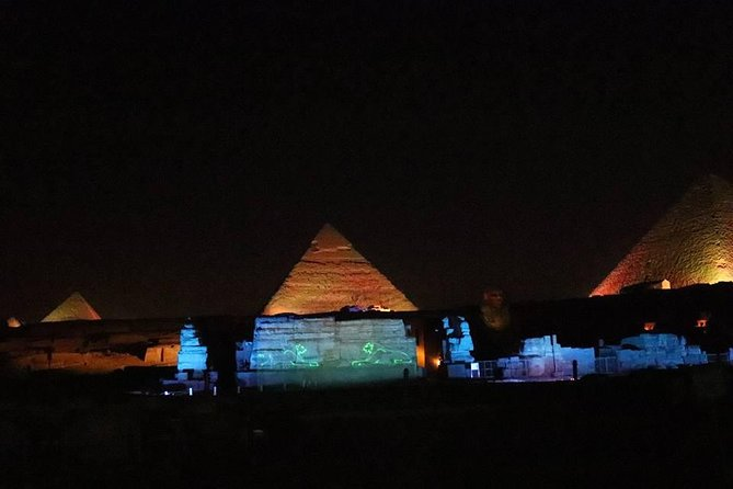 night spectacular Sound and Light Show at Giza photo 6