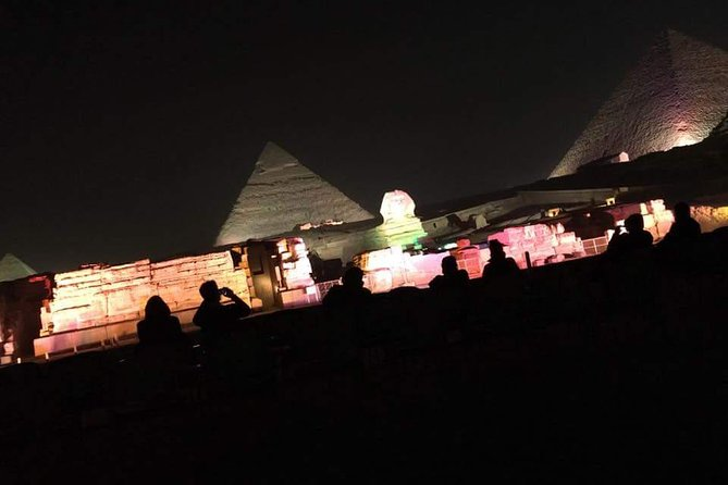 night spectacular Sound and Light Show at Giza photo 3