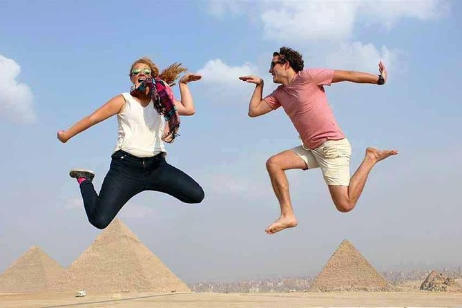 Giza pyramids and dahshur bent and red from cairo giza hotels