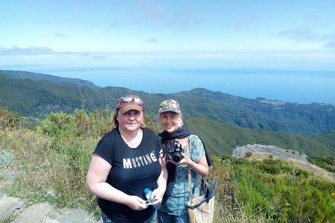 Pico do Areeiro - Pico Ruivo Parte superior del senderismo guiado de Madeira