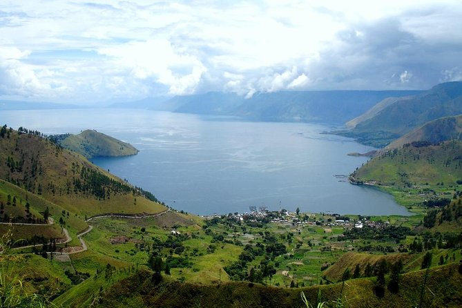 Medan Lake Toba view from Karo Highlands