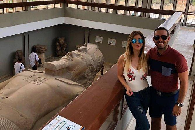 Dahshur , Sakkara step pyramids, Memphis old city from cairo and giza hotels