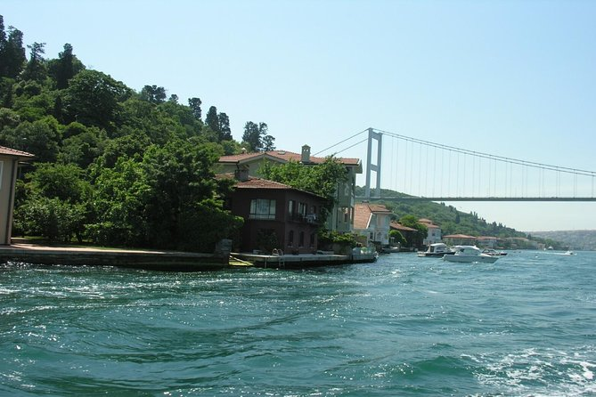 Short Guided Bosphorus and Golden Horn Boat Tour