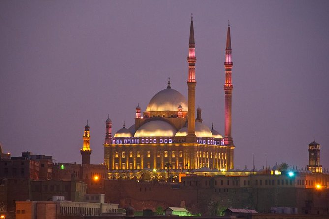 Islamic mosque and Christian Cairo church from Cairo Giza hotels