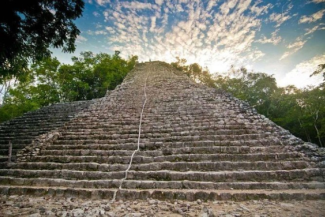 Tulum and Coba Full-Day Tour, swimming in Cenote and Playa del Carmen