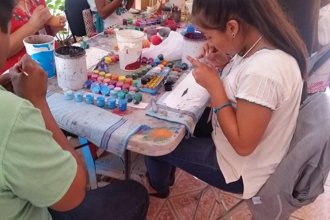 Half-Day Alebrijes Carving and Painting Workshop in San Martin from Oaxaca photo 2