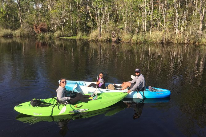Family kayak tour