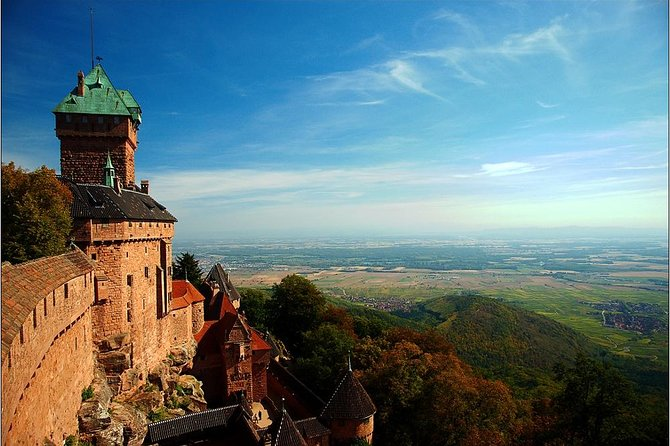 High Koenigsbourg Castle Entrance Ticket from Basel with Hotel Pick-Up and Drop-off