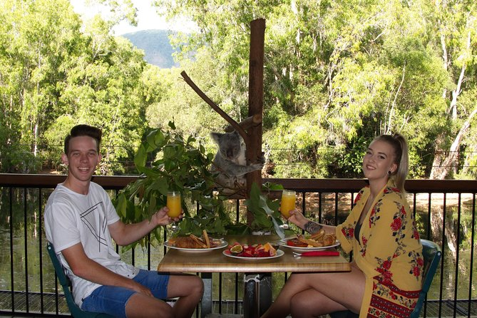 Hartley's Crocodile Adventures Entry Ticket and Breakfast with the Koalas
