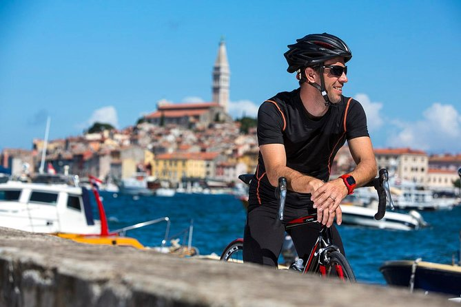 Rovinj private biking tour by electric powered bike