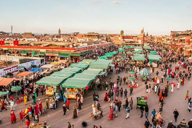 FULL-DAY MARRAKECH GUIDED CITY TOUR TO DISCOVER THE MEDINA IN MARRAKECH