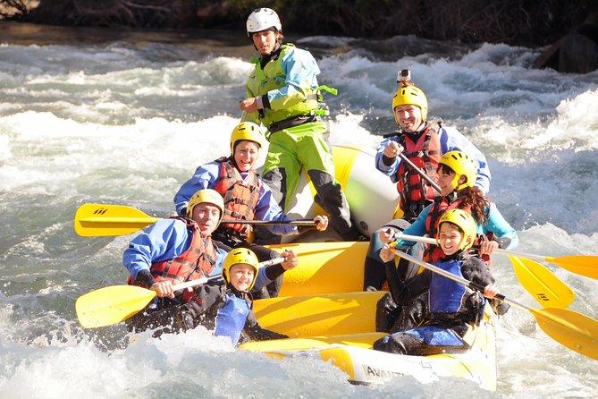 Rafting in Llavorsi-Sort Rapids in Catalonia