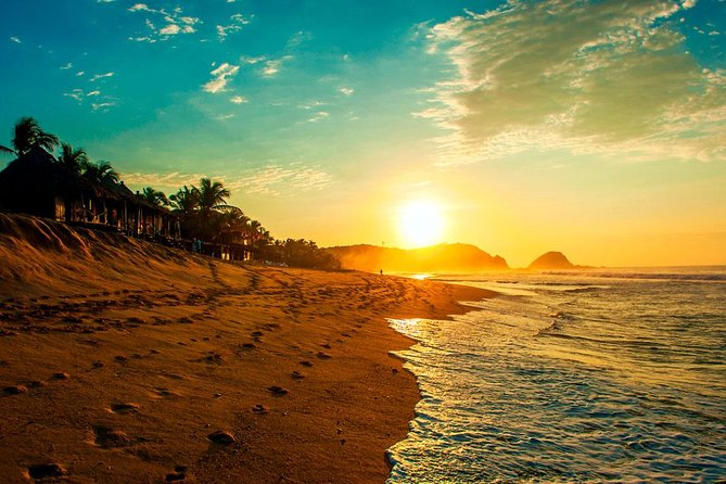Beach And Sunset In Mazunte Magic Town And Punta Cometa photo 8