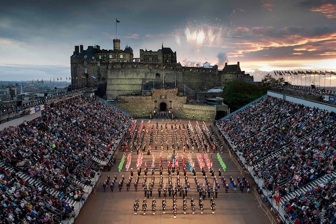 The Royal Military Tattoo Edinburgh City Tour Rosslyn Chapel and Dinner photo 1