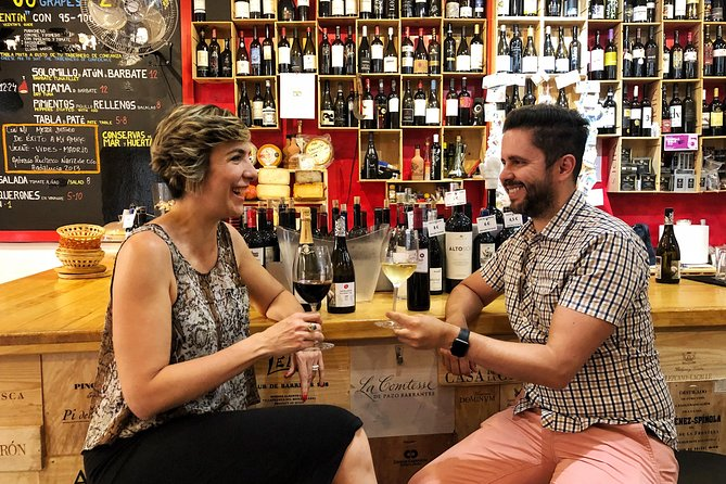 Private Wine and Premium Tapas Tour with Sommelier in Madrid