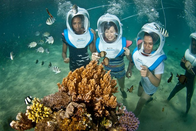 Aquanauts Sea Walking Package with Beach Club Lembongan