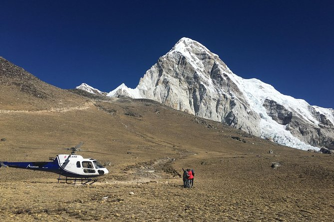 Landing Everest base camp by Helicopter one day trip from kathmandu