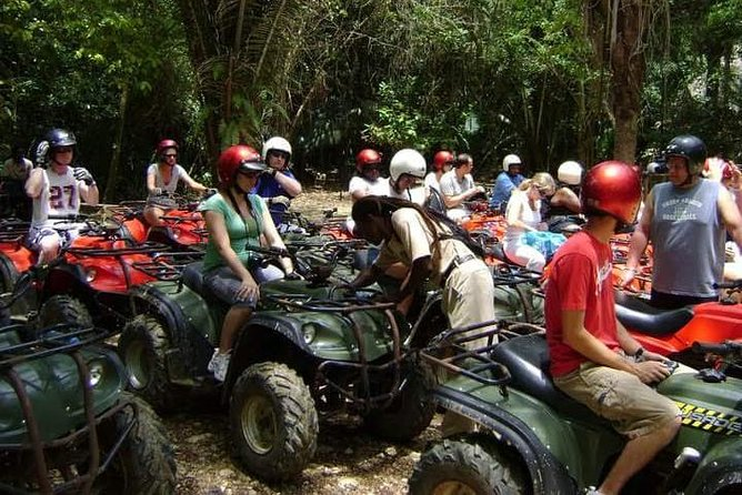 Jungle ATV and Cave Rafting Shore Excursion
