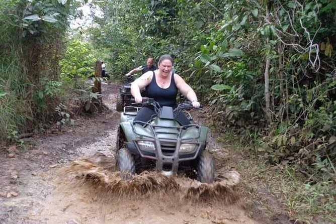 Jungle ATV and Cave Rafting Tour from Belize City
