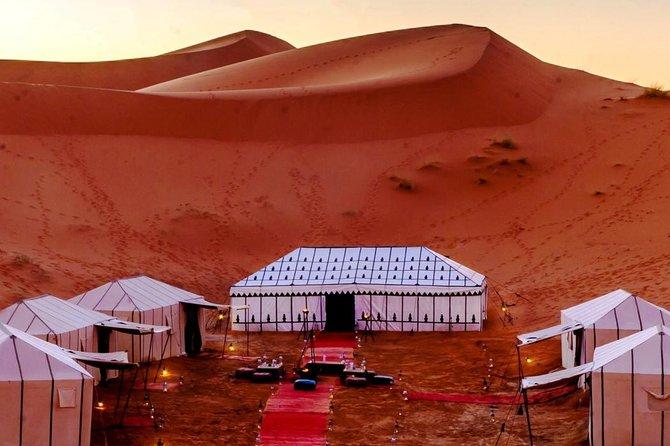 3 days desert tour to Fez via merzouga sahara and camel ride from Marrakech