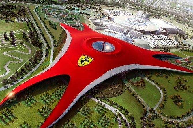 Ferrari World Theme Park with Private Transfers