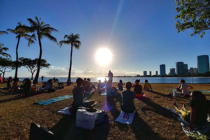 Sunset Yoga Flow by Yoga Love Mana