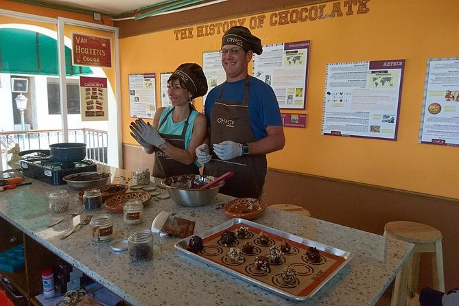 Chocolates and truffles workshop