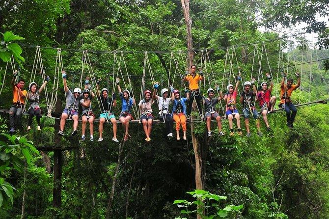 Tree Top Adventure Kanchanaburi Admission Ticket
