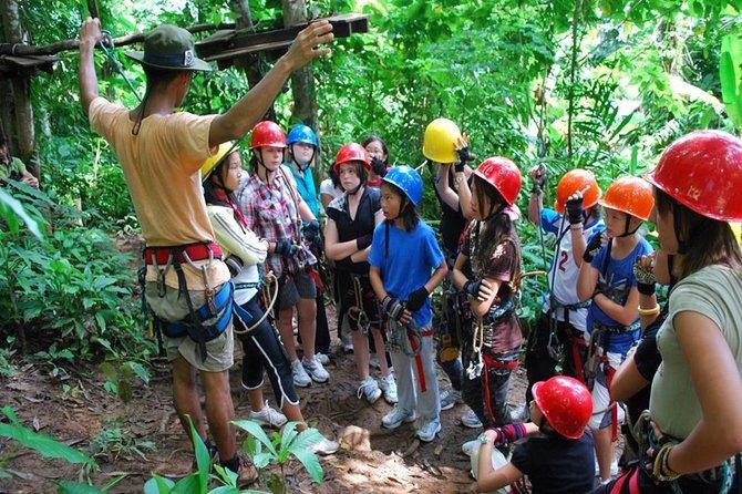 Tree Top Abenteuerpark Koh Chang Eintrittskarte