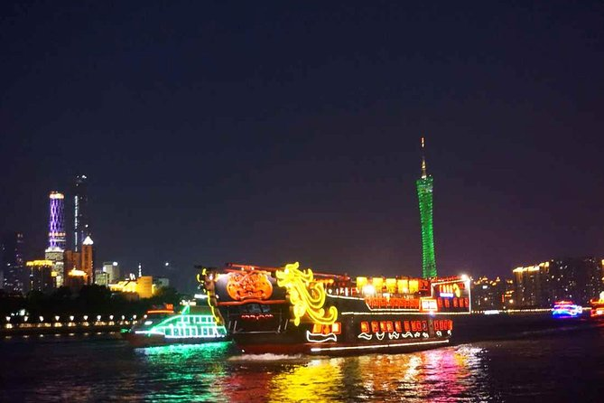 Guangzhou Night View Cruise Tour with Dinner