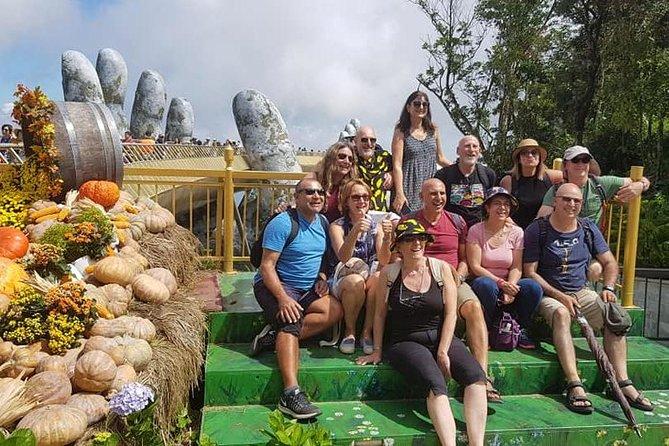 Shore Excursion to Visit GOLDEN BRIDGE &BA NA HILL from CHAN MAY or TIEN SA port