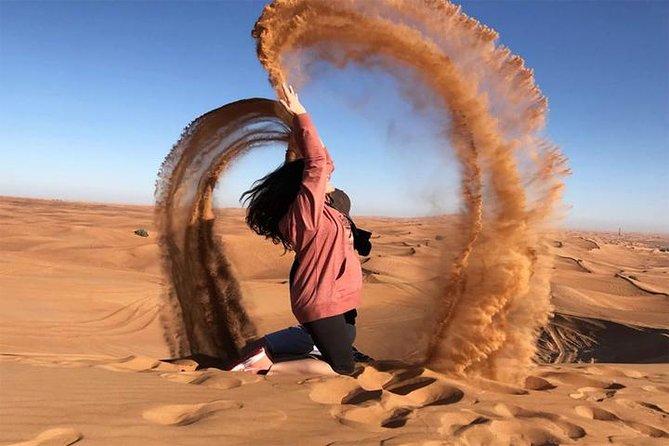 Dubai 4x4 Desert Safari avec barbecue, sandboard et promenade à dos de chameau