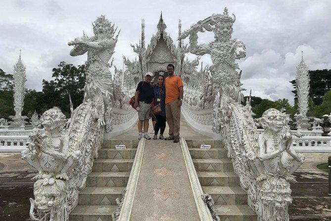 1 Day Private Tour Morning Buddhist Almsgiving , Doi Suthep ,White Temple