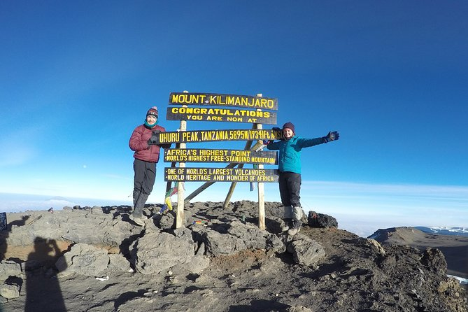 6 Days Machame Route With African Traits
