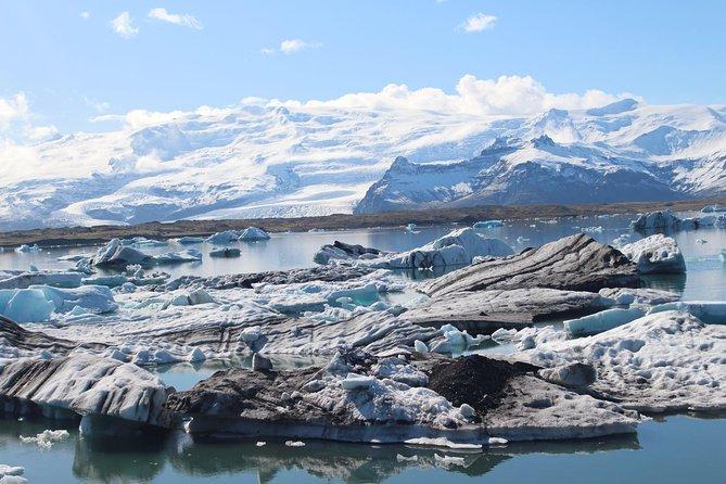 Private Day Tour - Glacier Lagoon, Diamond Beach & Secret Glacier (incl. flight)