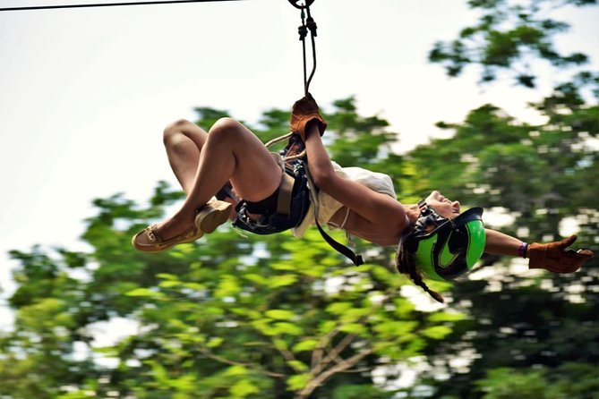 Combo from Cancun - Zipline Cenote ATV (Shared) and Lunch