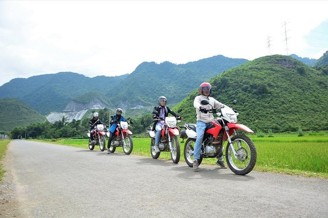 3 Days Hanoi to Thac Ba and Ba Be National Park Motorbike Tours