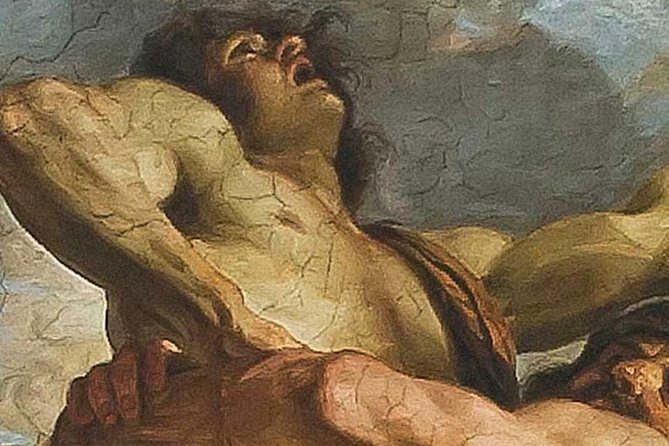 Hercules and Anteus by Guercino