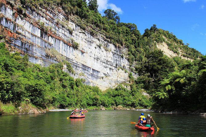 The Awesome Scenic Rafting Adventure - Full Day Rafting on the Rangitikei River