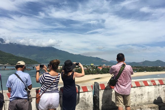 Hoi An to Hue One-Way Coach Transfer with Hai Van Pass and Lang Co Beach