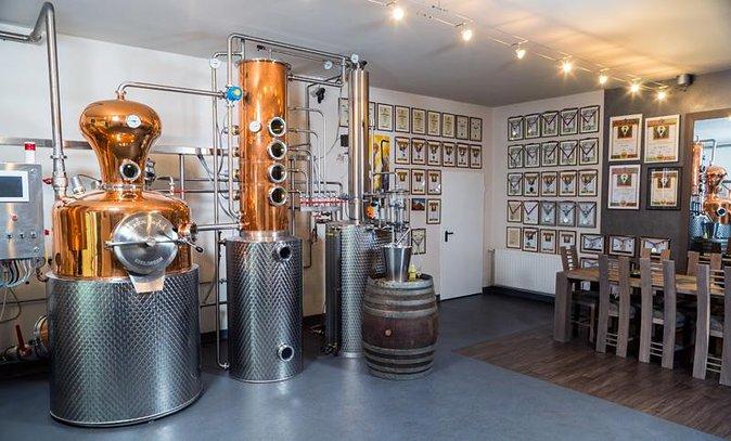 2 distilleries & Prejmer citadel day trip from Brasov